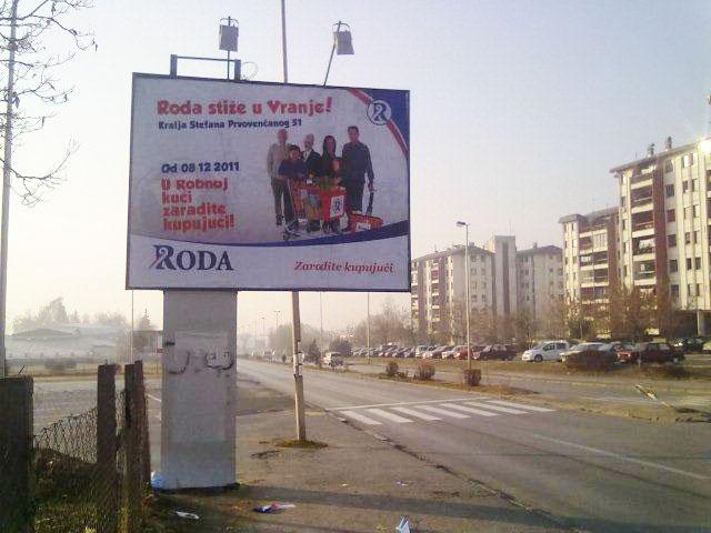 Bilbord Vranje VNJ-04