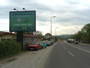 Bilbord Kragujevac KG-255